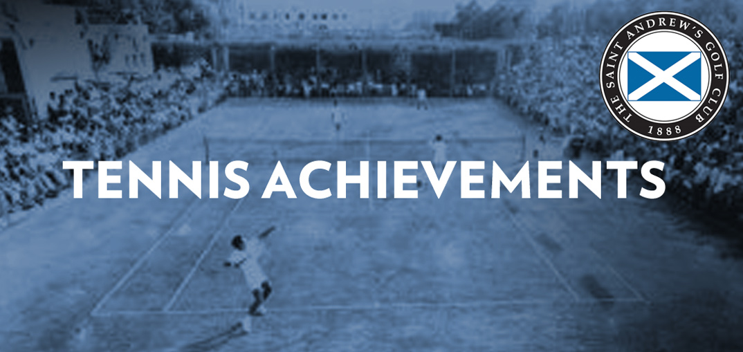 Charles Sands Tennis Achivements